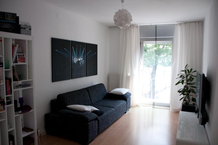 Wohnzimmer vor Auszug